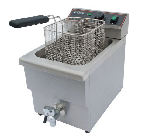 Blizzard Catering Single Tank Electric Fryer BF8